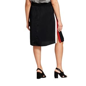 Who What Wear Skirts - Women's Plus Size Silky Track Skirt